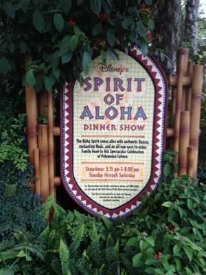Spirit of Aloha Polynesian