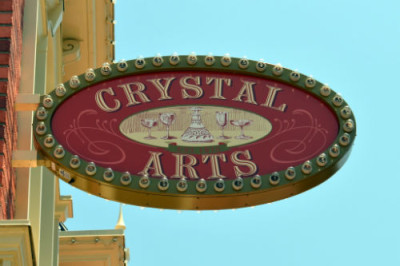 Crystal Arts sign