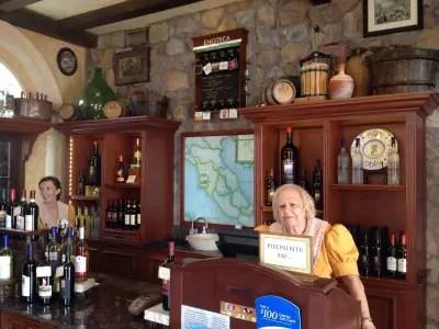 Italy Epcot Wine Shop