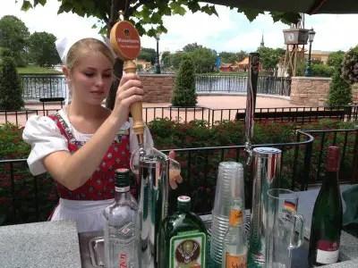 Trinken Cart Germany Epcot