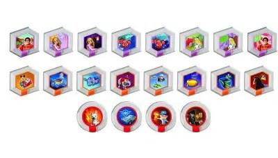 Disney Infinity Power Discs collection