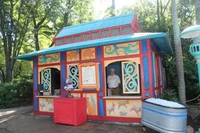Animal kingdom food allergy kiosk