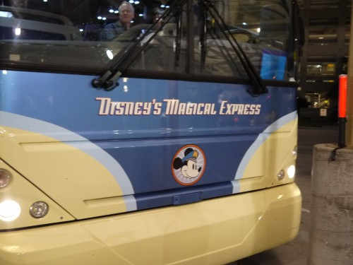 Magical Express Schedule