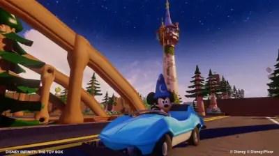 Disney Infinity Mickey Toy Box Scene