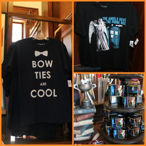 epcot uk merch doctor who