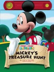 Mickey's Treasure hunt recordable book