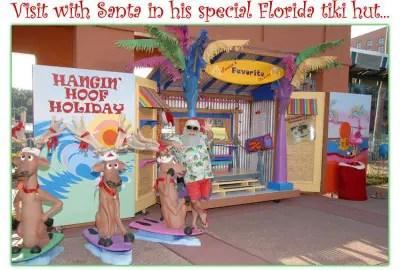 Santa in Florida