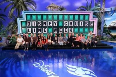 Disneyland cast members Wheel of Fortune DCL