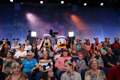 Goofy and Donald Trying to Steal Ear Hats