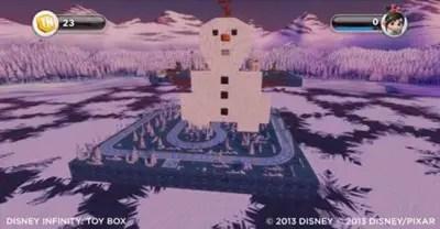 Frozen toy box Countdown