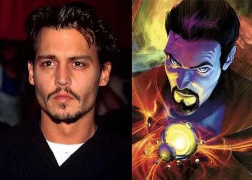 Johnny Depp; Doctor Strange