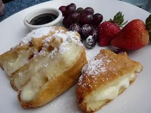 Three-cheese Monte Cristo