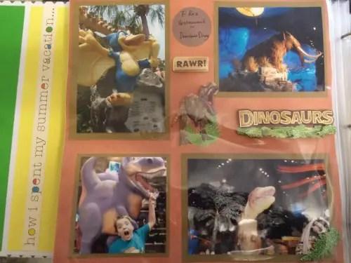 T-Rex Scrapbook