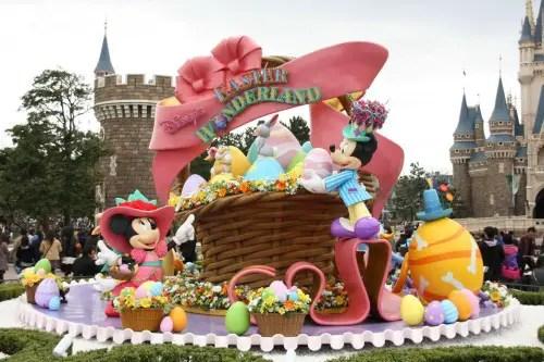 Disney Easter Wonderland - Tokyo Disneyland