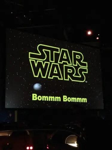 star wars dine in screen 2