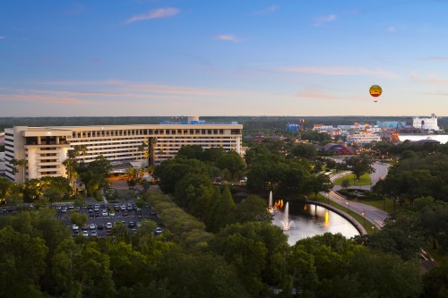 Hilton Orlando Lake Buena Vista -- exterior -- Downtown Disney Resort Area Hotels