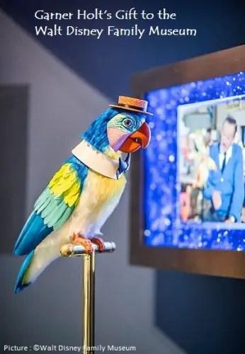 Walt Disney Museum-Tiki Bird-Exhibit 1