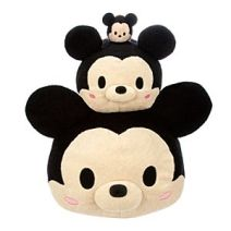 Stackable Tsum Tsum plush available in mini, medium, and large.