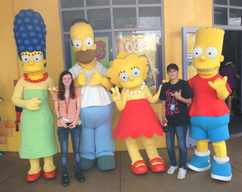 Universal Studios-The Simpsons