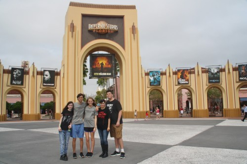 Entrance to Universal Orlando Halloween Horror Nights