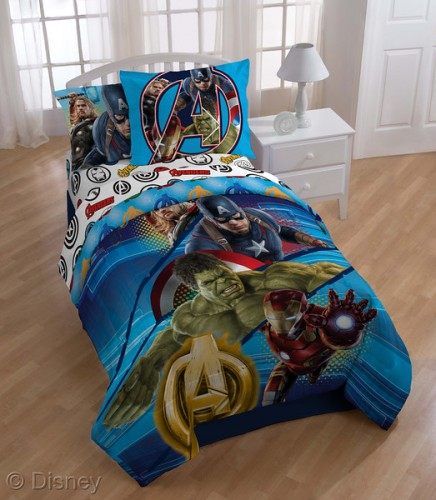 Marvel age of ultron bedding