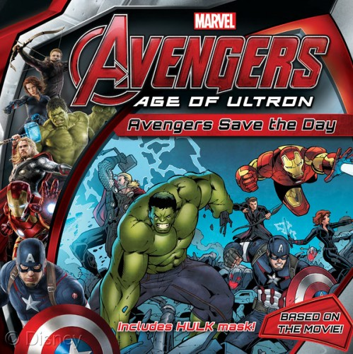Marvel avengers save the day for young readers