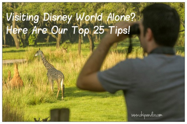 Top Tips for visiting Disney World alone