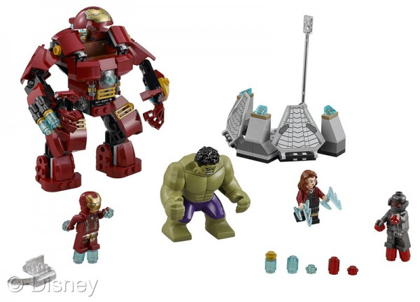 marvel hulkbuster smash lego playset