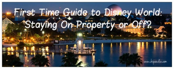 Should I stay on property at disney world