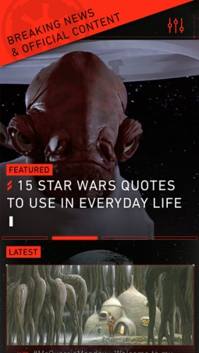 Star Wars Breaking News