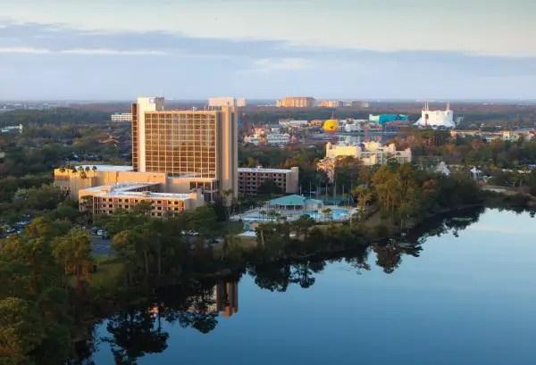 Wyndham Lake Buena Vista Resort -- aerial -- Downtown Disney Resort Area Hotels (2) (1280x873)