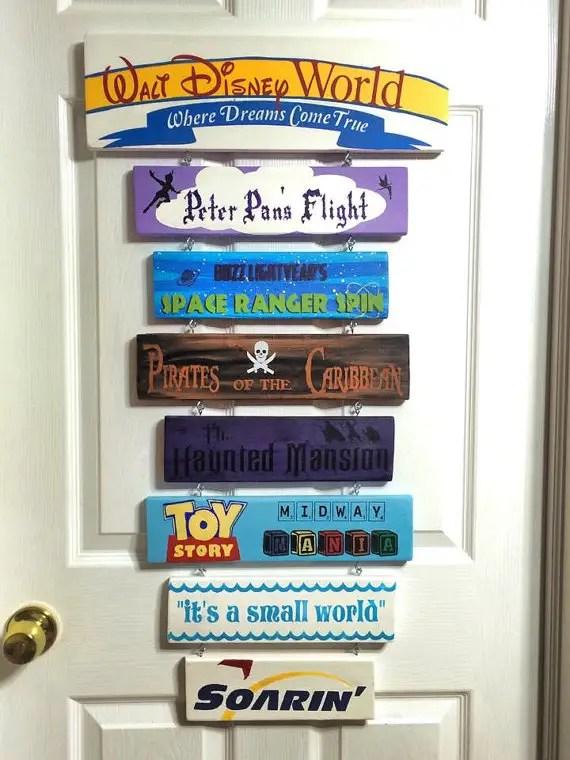 Disney Find Custom Made Disney Signs