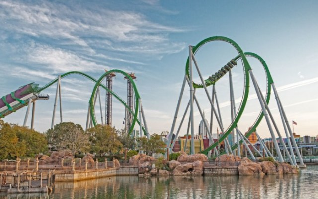 Universal Orlando Hulk Coaster