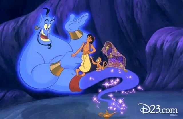 Aladdin D23 event