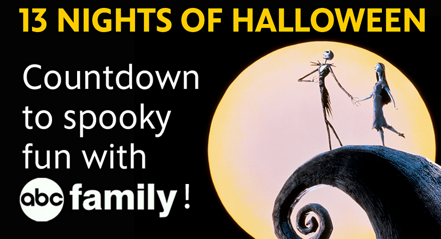 watch 13 nights of halloween on abc family and get a halloween surprise from disney movie rewards