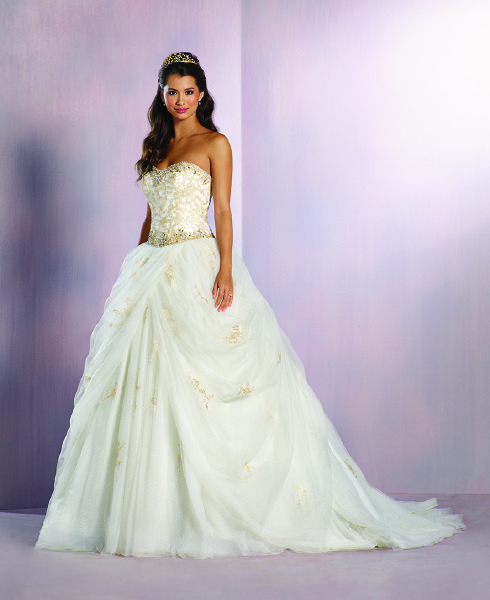 Alfred Angelo: Alfred Angelo Unveiling Its 2016 Disney Fairy Tale
