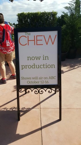The chew sign