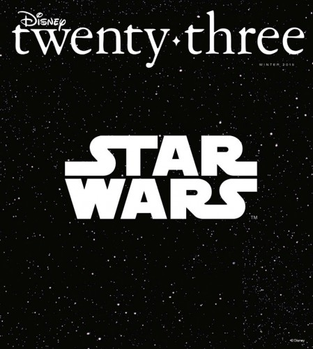 Star Wars Winter 2015 D23 cover