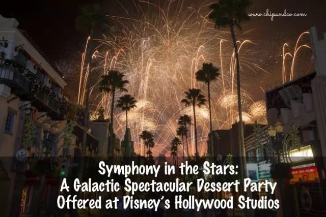 Star Wars Fireworks Dessert Party