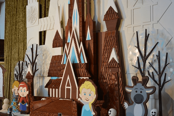 Gingerbread Holiday Ice Castle