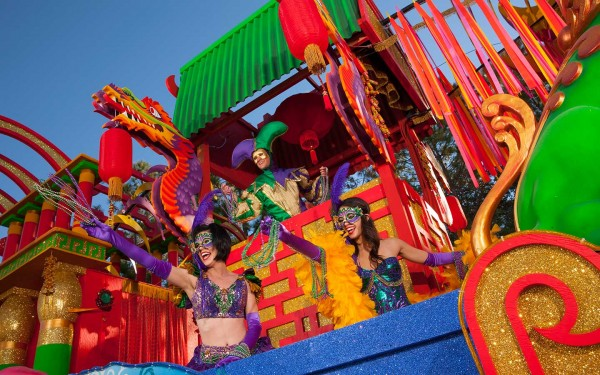 Mardi Gras Float