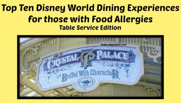 allergies table service