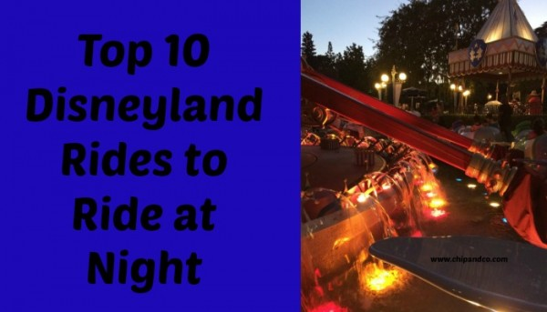 disneyland night rides