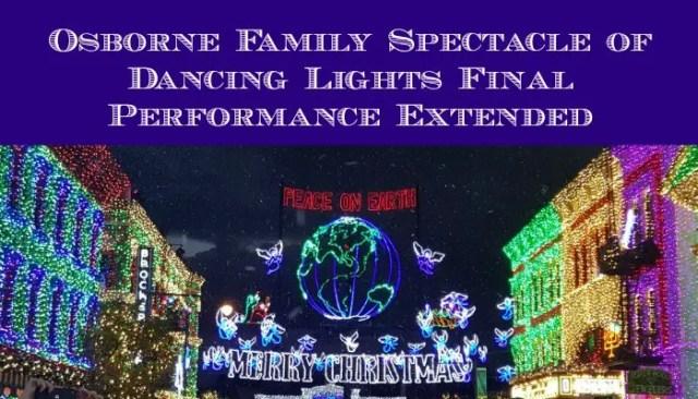 osborne lights extended