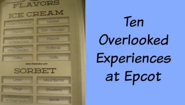 overlooked Epcot