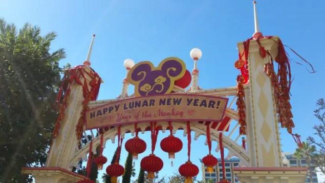 Happy Lunar New Year 2016 Disneyland