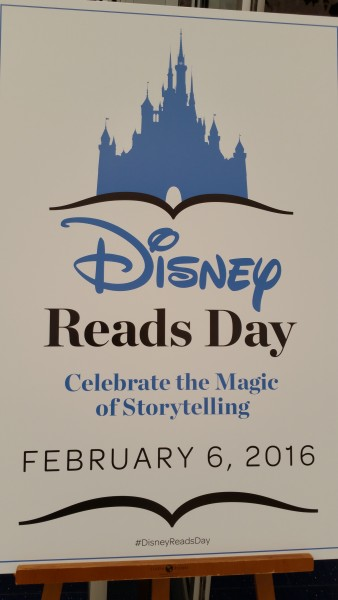 Disney Reads Day 2016