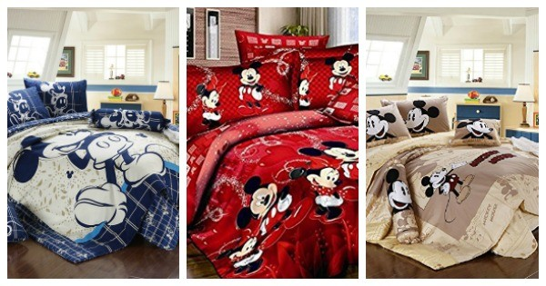 Mickey Mouse Bedding Sets For The Grown, Disney Bed Sheets Queen Size