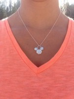 Mickey Silver Necklace