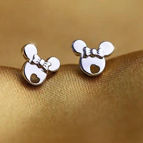 Dainty Minnie Mouse Earrings